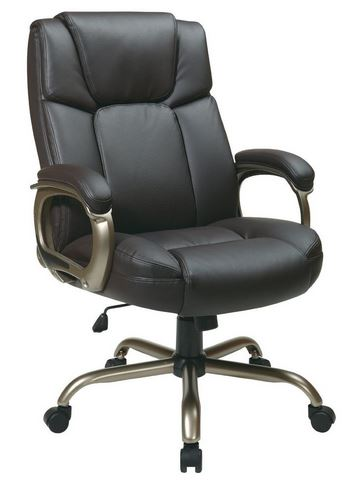 Smooth Leather Computer Chair